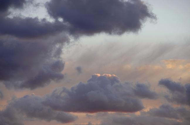 Stratus Rain Clouds