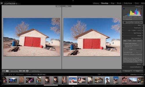 Screenshot of Lightroom 5.0 Beta Release